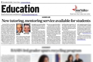 LearnerLink in the news in Peoria, Arizona